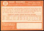 1964 Topps #292  Mike Roarke  Back Thumbnail