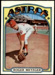 1972 Topps #217  Roger Metzger  Front Thumbnail