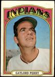 1972 Topps #285  Gaylord Perry  Front Thumbnail