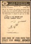 1959 Topps #84  Les Richter  Back Thumbnail