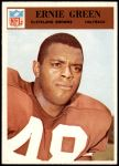 1966 Philadelphia #44  Ernie Green  Front Thumbnail