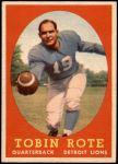 1958 Topps #94  Tobin Rote  Front Thumbnail