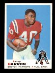1969 Topps #141  Larry Garron  Front Thumbnail