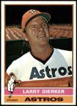 1976 Topps #75  Larry Dierker  Front Thumbnail
