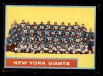 1962 Topps #114   Giants Team Front Thumbnail