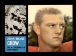 1962 Topps #140  John David Crow  Front Thumbnail