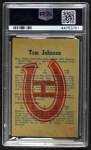 1960 Parkhurst #44  Tom Johnson  Back Thumbnail