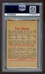 1959 Parkhurst #10  Tom Johnson  Back Thumbnail