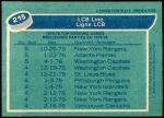 1976 O-Pee-Chee NHL #215   -  Bill Barber / Bobby Clarke / Reggie Leach LCB Line Back Thumbnail