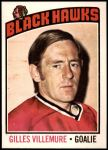 1976 O-Pee-Chee NHL #61  Gilles Villemure  Front Thumbnail
