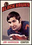1976 O-Pee-Chee NHL #183  Jim Harrison  Front Thumbnail