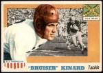 1955 Topps #66  Bruiser Kinard  Front Thumbnail