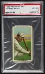1909 T206  Johnny Bates  Front Thumbnail