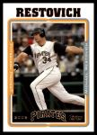 2005 Topps Update #17  Michael Restovich  Front Thumbnail