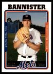 2005 Topps Update #238  Brian Bannister   Front Thumbnail