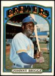 1972 Topps #197  Johnny Briggs  Front Thumbnail