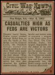 1962 Topps Civil War News #9   Savages Attack Back Thumbnail