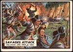1962 Topps Civil War News #9   Savages Attack Front Thumbnail