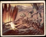 1950 Topps Freedoms War #7   Stand Or Die Front Thumbnail
