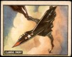 1950 Topps Freedoms War #169   Flaming Enemy Front Thumbnail
