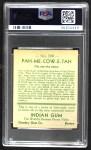 1933 Goudey Indian Gum #168  Pah-Me-Cow-E-Tah   Back Thumbnail