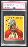 1933 Goudey Indian Gum #168  Pah-Me-Cow-E-Tah   Front Thumbnail
