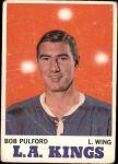 1970 Topps #36  Bob Pulford  Front Thumbnail