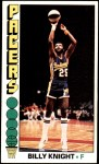 1976 Topps #124  Billy Knight  Front Thumbnail