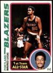 1978 Topps #50  Maurice Lucas  Front Thumbnail