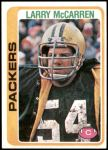 1978 Topps #407  Larry McCarren  Front Thumbnail