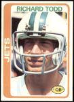 1978 Topps #267  Richard Todd  Front Thumbnail
