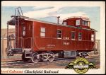 1955 Topps Rails & Sails #9   Steel Caboose Front Thumbnail