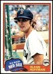 1981 Topps #349  Glenn Hoffman  Front Thumbnail