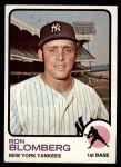 1973 Topps #462  Ron Blomberg  Front Thumbnail