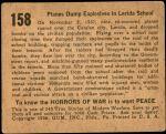 1938 Horrors of War #158   Planes Dump Explosives in Lerida School Back Thumbnail