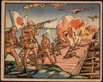 1938 Horrors of War #147   Airmen Destroy Pontoon Bridge to Trap Japs Front Thumbnail