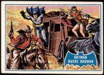 1966 Topps Batman Blue Bat Puzzle Back #31   Batman Bucks Badman Front Thumbnail