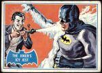 1966 Topps Batman Blue Bat Puzzle Back #1   The Joker's Icy Jest Front Thumbnail