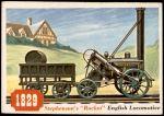1955 Topps Rails & Sails #60   Stephenson's Rocket Front Thumbnail