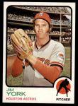 1973 Topps #546  Jim York  Front Thumbnail