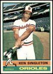 1976 Topps #175  Ken Singleton  Front Thumbnail