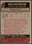 1977 Topps #199  Mike Hartenstine  Back Thumbnail