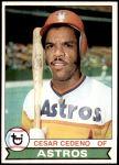 1979 Topps #570  Cesar Cedeno  Front Thumbnail