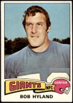 1975 Topps #368  Bob Hyland  Front Thumbnail