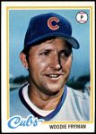 1978 Topps #585  Woodie Fryman  Front Thumbnail