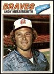 1977 Topps #80  Andy Messersmith  Front Thumbnail