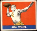 1948 Leaf #80 RED Jim Youle  Front Thumbnail