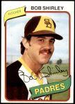 1980 Topps #476  Bob Shirley  Front Thumbnail