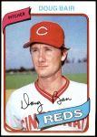 1980 Topps #449  Doug Bair  Front Thumbnail