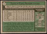 1979 Topps #627  Gary Serum  Back Thumbnail
